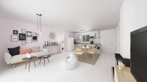 Maison+Terrain à vendre .(95 m²)(MOULAYRES) avec (MAISONS FRANCE CONFORT)