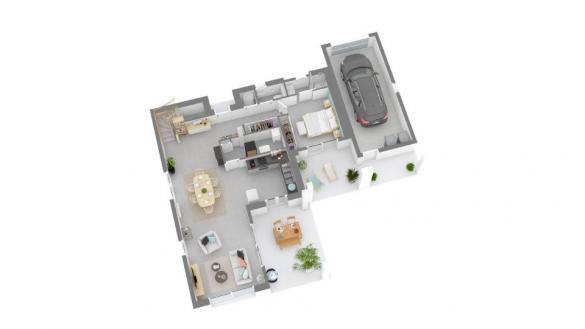 Maison+Terrain à vendre .(110 m²)(CAMBON LES LAVAUR) avec (MAISONS FRANCE CONFORT)