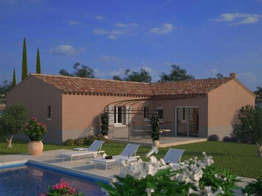 Maison+Terrain à vendre .(110 m²)(SAINT CEZERT) avec (MAISONS FRANCE CONFORT)