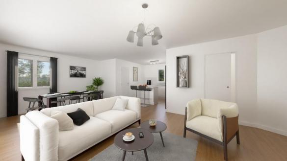 Maison+Terrain à vendre .(100 m²)(PIBRAC) avec (MAISONS FRANCE CONFORT)