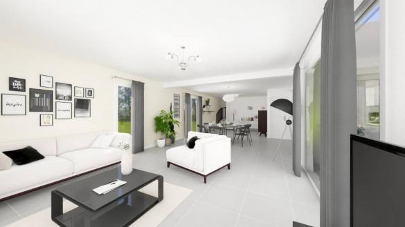 Maison+Terrain à vendre .(140 m²)(SAINT LYS) avec (MAISONS FRANCE CONFORT)