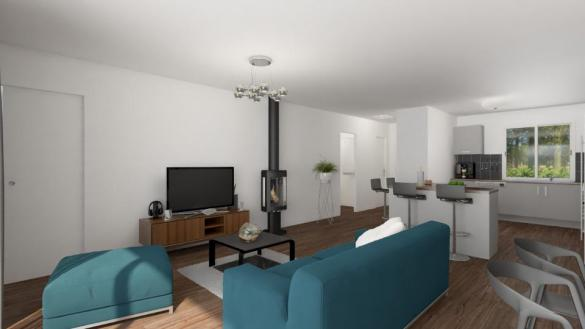 Maison+Terrain à vendre .(125 m²)(LARRA) avec (MAISONS FRANCE CONFORT)