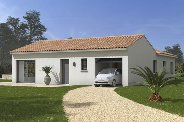 Maison+Terrain à vendre .(110 m²)(FONSORBES) avec (MAISONS FRANCE CONFORT)