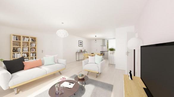 Maison+Terrain à vendre .(90 m²)(LAFITTE) avec (MAISONS FRANCE CONFORT)