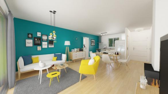 Maison+Terrain à vendre .(73 m²)(L'HONOR DE COS) avec (MAISONS FRANCE CONFORT)