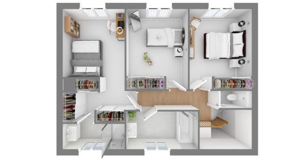 Maison+Terrain à vendre .(115 m²)(BRESSOLS) avec (MAISONS FRANCE CONFORT)
