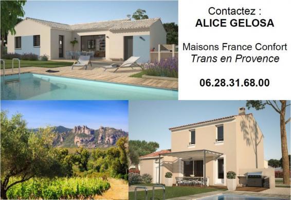 Maison+Terrain à vendre .(93 m²)(DRAGUIGNAN) avec (MAISONS FRANCE CONFORT)
