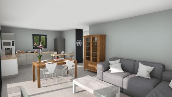Maison+Terrain à vendre .(99 m²)(DRAGUIGNAN) avec (MAISONS FRANCE CONFORT)