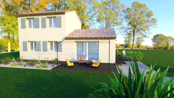 Maison+Terrain à vendre .(80 m²)(DRAGUIGNAN) avec (MAISONS FRANCE CONFORT)