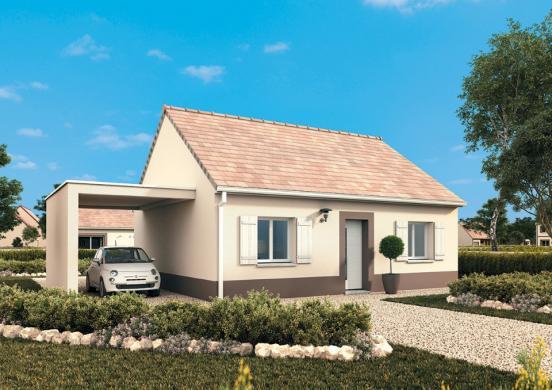 Maison+Terrain à vendre .(55 m²)(GALLARDON) avec (MAISONS FRANCE CONFORT)