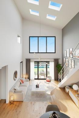 Maison+Terrain à vendre .(105 m²)(THEUVILLE) avec (MAISONS FRANCE CONFORT)