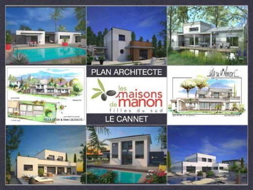 Maison+Terrain à vendre .(130 m²)(LE CANNET) avec (LES MAISONS DE MANON)