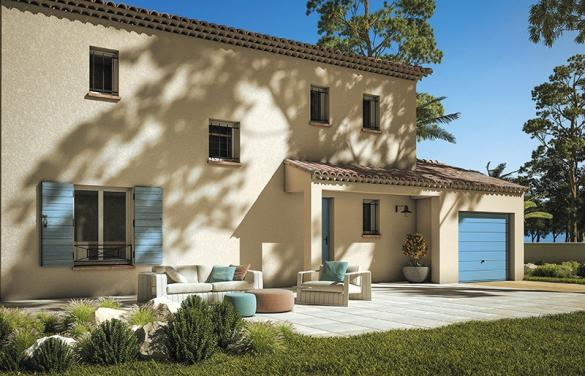 Maison+Terrain à vendre .(160 m²)(CHATEAUNEUF GRASSE) avec (LES MAISONS DE MANON)