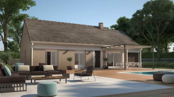 Maison+Terrain à vendre .(73 m²)(CEZY) avec (MAISONS FRANCE CONFORT)