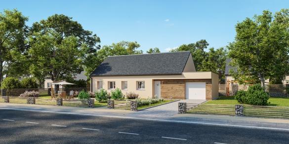 Maison+Terrain à vendre .(90 m²)(SAINT FLORENTIN) avec (MAISONS FRANCE CONFORT)