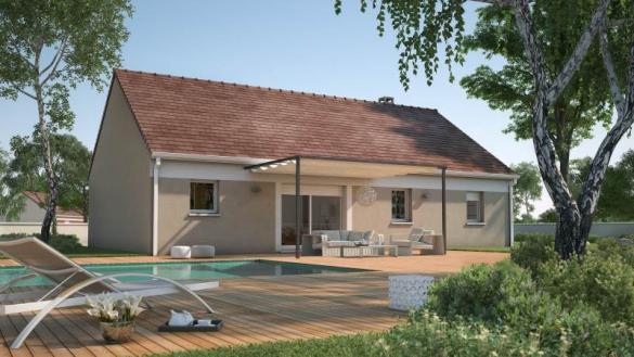Maison+Terrain à vendre .(65 m²)(LA LOUPTIERE THENARD) avec (MAISONS FRANCE CONFORT)