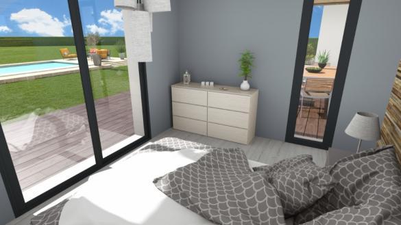 Maison+Terrain à vendre .(125 m²)(VAGNAS) avec (MAISONS FRANCE CONFORT)