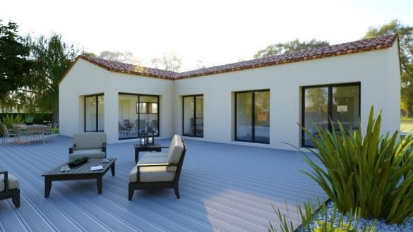 Maison+Terrain à vendre .(113 m²)(BARJAC) avec (MAISONS FRANCE CONFORT)