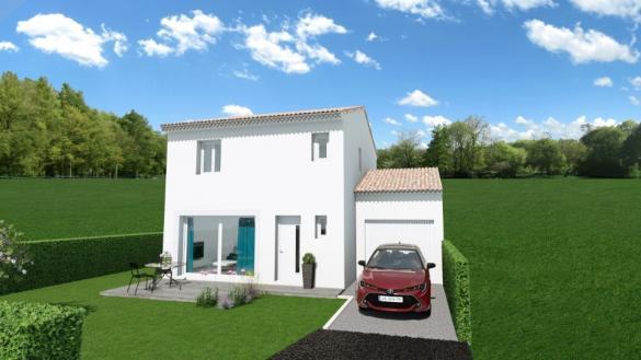 Maison+Terrain à vendre .(83 m²)(TRESQUES) avec (MAISONS FRANCE CONFORT)