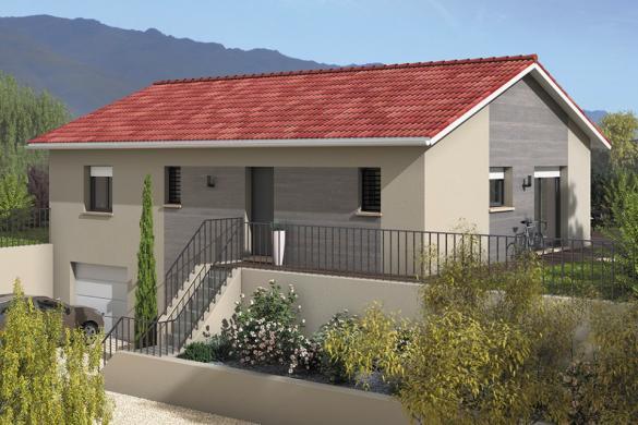 Maison+Terrain à vendre .(90 m²)(GONCELIN) avec (MAISONS FRANCE CONFORT)