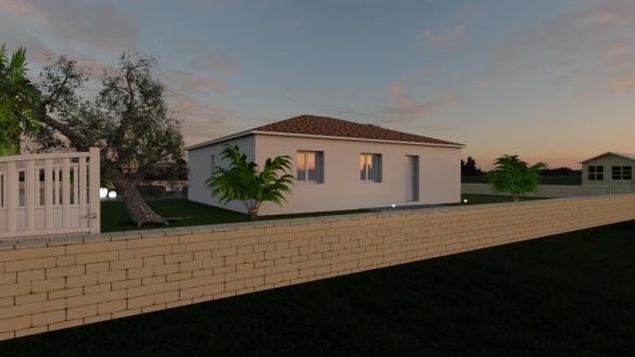Maison+Terrain à vendre .(93 m²)(CARNOULES) avec (MAISONS BALENCY)