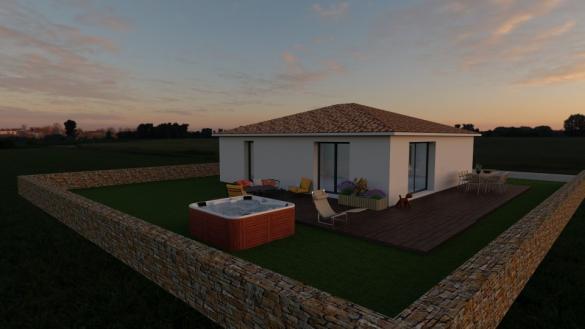 Maison+Terrain à vendre .(80 m²)(PIERREFEU DU VAR) avec (MAISONS BALENCY)