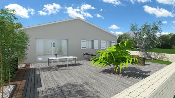 Maison+Terrain à vendre .(90 m²)(CARNOULES) avec (MAISONS BALENCY)