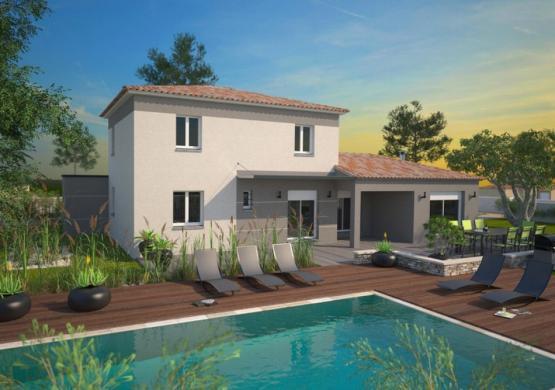 Maison+Terrain à vendre .(105 m²)(LA CRAU) avec (MAISONS BALENCY)