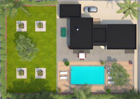 Maison+Terrain à vendre .(120 m²)(BORMES LES MIMOSAS) avec (MAISONS BALENCY)