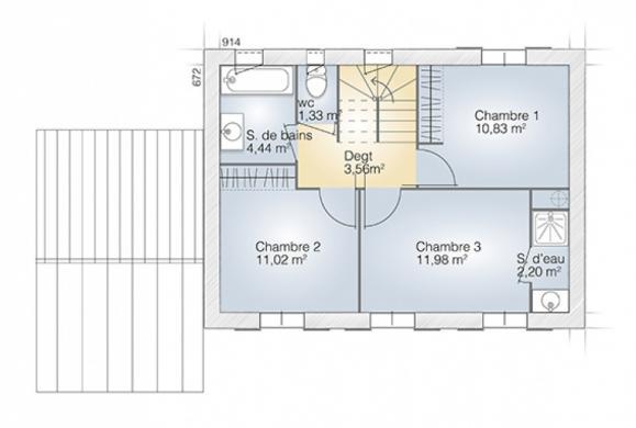 Maison+Terrain à vendre .(95 m²)(LE CASTELLET) avec (MAISONS BALENCY)