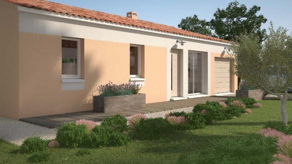 Maison+Terrain à vendre .(61 m²)(MONTFAVET) avec (MAISONS DE MANON)