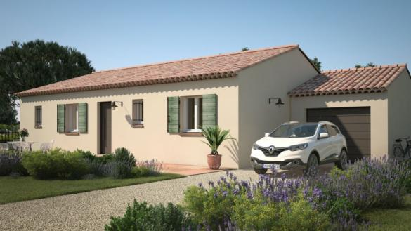 Maison+Terrain à vendre .(90 m²)(MAZAN) avec (MAISONS DE MANON)