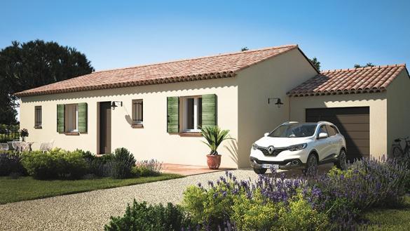 Maison+Terrain à vendre .(80 m²)(VAISON LA ROMAINE) avec (MAISONS DE MANON)