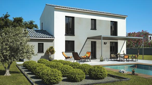 Maison+Terrain à vendre .(120 m²)(PERNES LES FONTAINES) avec (MAISONS DE MANON)