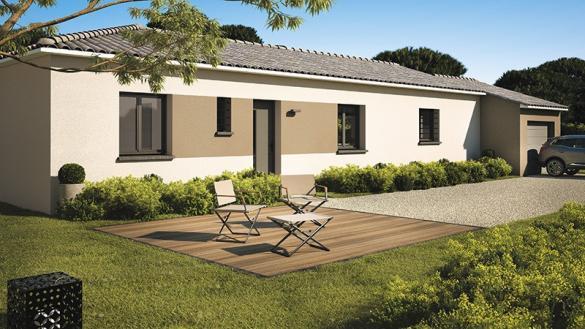 Maison+Terrain à vendre .(110 m²)(VACQUEYRAS) avec (MAISONS DE MANON)