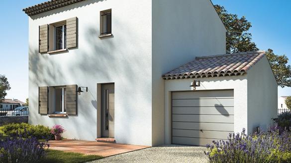 Maison+Terrain à vendre .(90 m²)(SAINT GENIES DE COMOLAS) avec (MAISONS DE MANON)