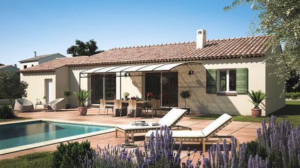 Maison+Terrain à vendre .(80 m²)(RASTEAU) avec (MAISONS DE MANON)