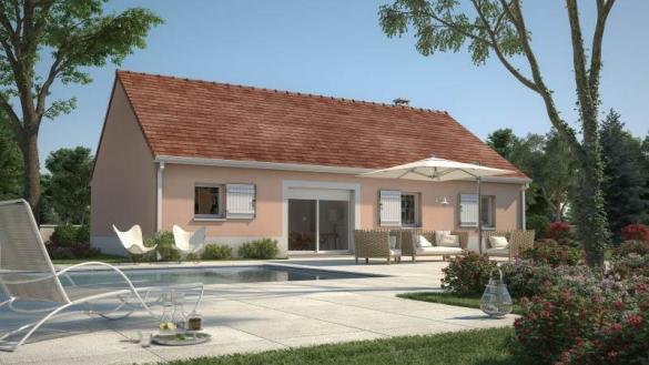 Maison+Terrain à vendre .(76 m²)(BREVAL) avec (MAISONS FRANCE CONFORT)