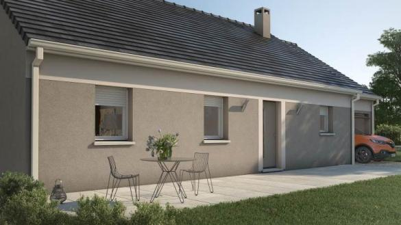 Maison+Terrain à vendre .(60 m²)(GUITRANCOURT) avec (MAISONS FRANCE CONFORT)