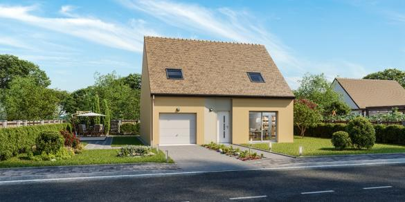 Maison+Terrain à vendre .(100 m²)(LONGNES) avec (MAISONS FRANCE CONFORT)