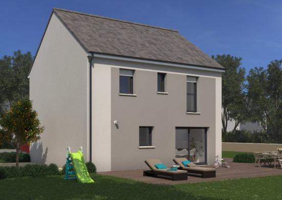 Maison+Terrain à vendre .(89 m²)(CONDE SUR VESGRE) avec (MAISONS FRANCE CONFORT)
