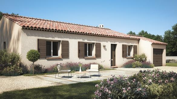 Maison+Terrain à vendre .(80 m²)(PIERREVERT) avec (LES MAISONS DE MANON)