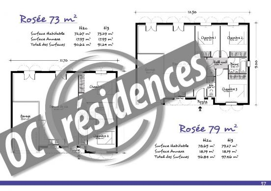 Maison+Terrain à vendre .(72 m²)(AUSSILLON) avec (OC RESIDENCES - MAZAMET)