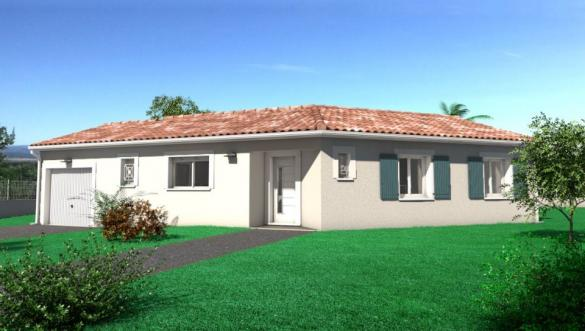 Maison+Terrain à vendre .(88 m²)(AUSSILLON) avec (OC RESIDENCES - MAZAMET)