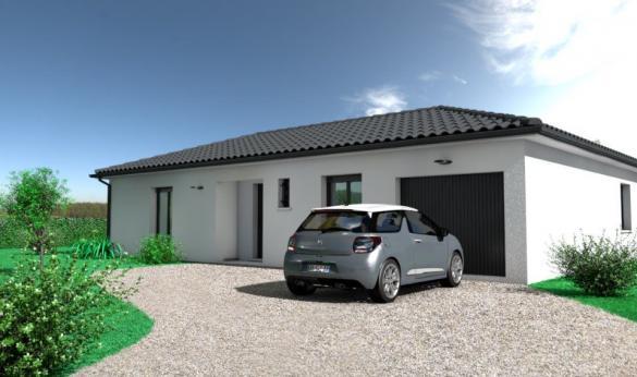 Maison+Terrain à vendre .(109 m²)(AUSSILLON) avec (OC RESIDENCES - MAZAMET)