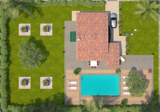 Maison+Terrain à vendre .(73 m²)(MONTAGNAC) avec (MAISONS BALENCY)
