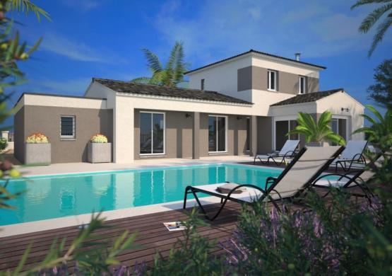 Maison+Terrain à vendre .(90 m²)(SERVIAN) avec (MAISONS BALENCY)