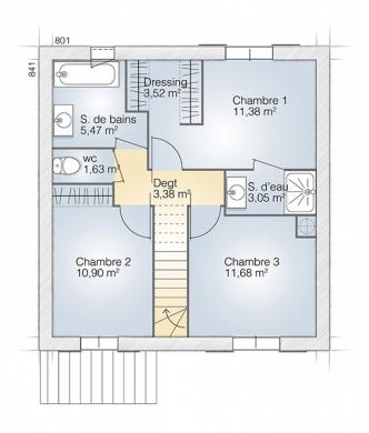 Maison+Terrain à vendre .(95 m²)(MARSEILLAN) avec (MAISONS BALENCY)
