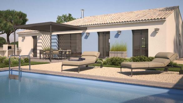 Maison+Terrain à vendre .(74 m²)(ROUJAN) avec (MAISONS BALENCY)
