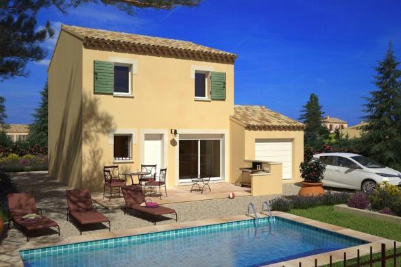 Maison+Terrain à vendre .(78 m²)(SENAS) avec (MAISONS FRANCE CONFORT)
